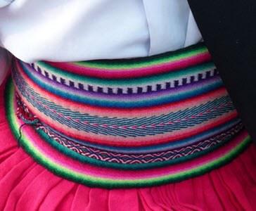 chumpi faja cinturon quechua 2