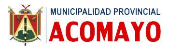 Municipalidad Provincial de Acomayo - Cusco