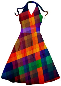 saya vestido quechua